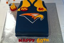 West coast eagles cake
