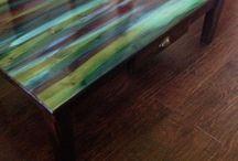 Boyanmış mobilya