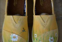 festett cipő