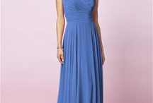 Blue bridesmaids for Zahn