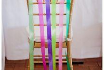 Décoration de chaise / Des idées de décorations pour les chaises - wedding ideas chair decorations