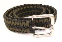 Paracord belts
