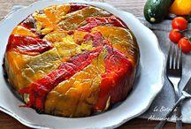 ricette / Torta di peperoni rovesciata