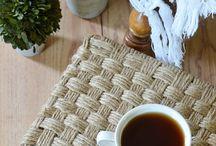 Плетение из джута