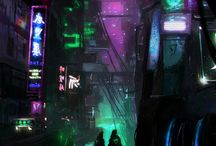 Cyber punk / Things I need