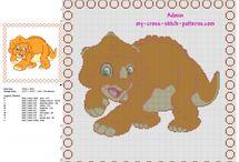 Cross stitch baby pillows free patterns / Cross stitch baby pillows free patterns