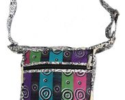 Shoulder/Sling Bags / designed in Australia by royalty paid Aboriginal Artists - made in South Korea
