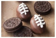 NFL Superbowl Party Baking Ideas / This Baking Time Club Pinterest board features some amazing baking ideas for your Superbowl party.