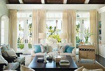 SEA ISLAND STYLE- Interior decor / A little different than coastal, but so classy!