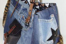 Genți jeans