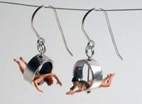 Mixed media jewellery / Mixed media jewellery inspiration