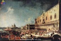 Canaletto Oil Paintings / [Italian Rococo Era Painter, 1697-1768]
