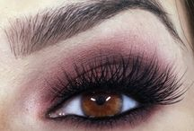 Smokey Eye Makeup / How to do and apply smokey eye makeup tutorial with steps for green. blue and brown eyes and dark skin. Best smokey eye makeup looks, ideas and inspiration.