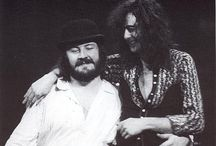 Jimmy Page and John Bonham