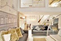 Apartments, interiors