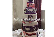 Beatles Wedding cake