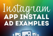 Instagram App Install Ad Examples