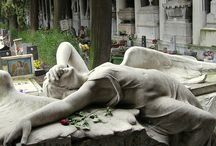 cemitery, sculptures, catacombs...