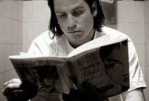 Libros en el cine y series de TV / Muchos libros acaban adaptados al cine o a series de televisión. Y suele considerarse que estas adaptaciones van en detrimento de la lectura de las obras originales.  Pero no siempre sucede así. A veces, la fugaz aparición de un libro en una serie de culto o en un película de éxito ha producido un inusitado interés por la obra o por su autor. http://desequilibros.blogspot.com.es/2013/10/Libros-en-el-cine-y-en-series-de-TV.html#.UmeOAiRFR24