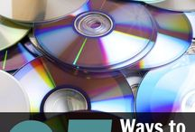 Recycle Old CD and DVD