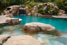 Landscapes - Pools,Hot tubs, Water Features / by Joanne Jean