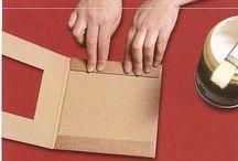 рамочка из картона