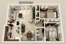 plantas apartamentos