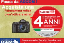 Promo / Promozioni Canon- Sony -Panasonic-JVC