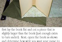 Book crafts / DYI with old books