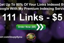 Get up to 80% of your backlinks indexed / The most important part of the link building process is not building the links but getting them indexed by the search engines. In order to rank your website higher in the search results Google has to actually know that those links exist.