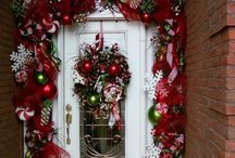 Christmas doorways / Some people go all out decorating their entrances for the Christmas season. barbara-griffin.artistwebsites.com