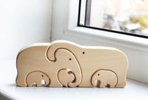 Figuras madera