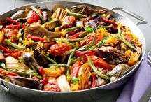Vegetarian recipes for a crowd