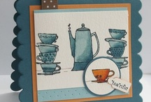 Handmade Cards- SU- Morning Cup