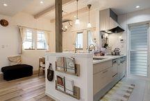 キッチン 床