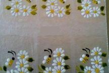 Uñas flores
