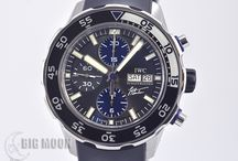 BIGMOON IWC Watches / A board of our newest arrivals of pre-owned IWC watches.