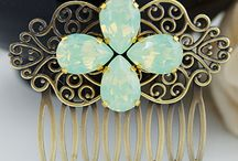 EarringsNation - Hair Accessories / Bridal, Bridesmaid Hair Accessories from http://www.earringsnation.com