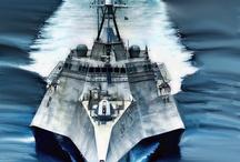 Combat Ships / by Iain Blackie