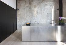 Steel kitchen / Stainless steel kitchen inspo