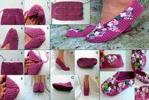 KNITTING: Slippers & Socks