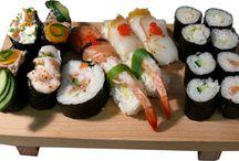 sushi - my favorite food / by Angela Williamson