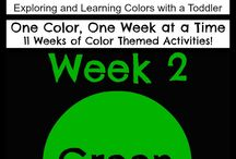 Playgroup term 2 colours