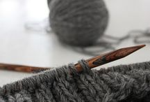 """Knitting and Crochet / """"Properly practiced, knitting soothes the troubled spirit, and it doesn't hurt the untroubled spirit either.""""  ― Elizabeth Zimmermann"""