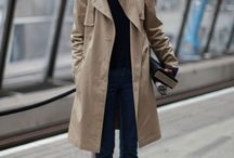 trench coat style. / by manami