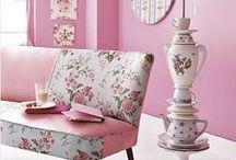 AH loves creating Pink rooms
