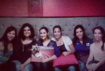 My sweet girlfriends. / Mis amigas hermosas