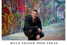 male posing