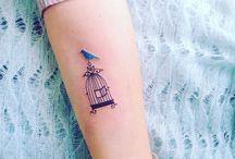 Cage tattoo