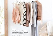 Ethical and Capsule Wardrobes / Pins about how to make your wardrobe more ethical and how to buy less and wear more